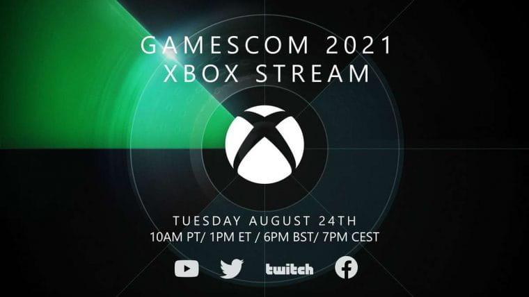 Gamescom 2021 terá transmissão da Microsoft focado no Xbox