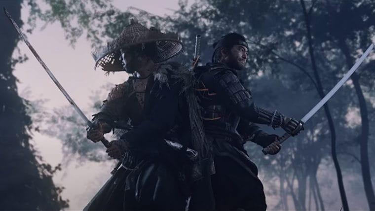 Ghost of Tsushima | Game ganha trailer japonês de gameplay
