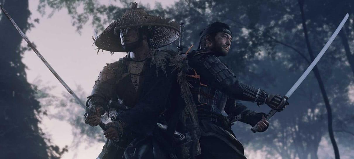 Ghost of Tsushima | Game vendeu 2,4 milhões de cópias em três dias