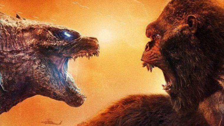 Godzilla vs Kong supera Mulher-Maravilha 1984 e Snyder Cut se tornando a maior estreia da HBO Max