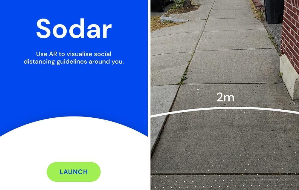 Google lança Aplicativo que ajuda a manter distância social com realidade aumentada
