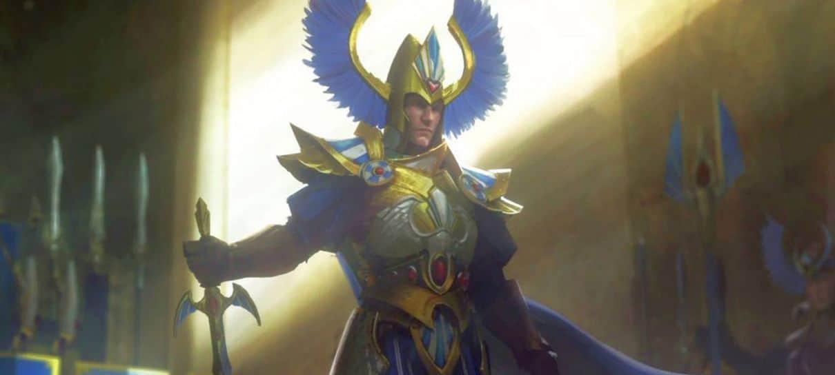 Henry Cavill ganha personagem jogável em Total War: Warhammer 2