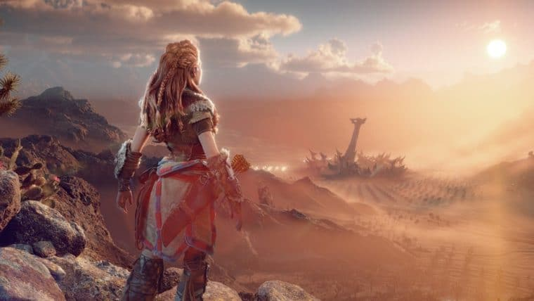 Horizon Forbidden West   Guerrilla divulga imagens direto do PS5