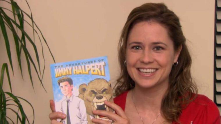 HQ feita por Pam em The Office, As Aventuras de Jimmy Halpert, será lançada oficialmente