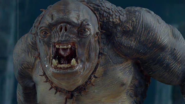 Iron Studios lança estátua do Troll de O Senhor dos Anéis