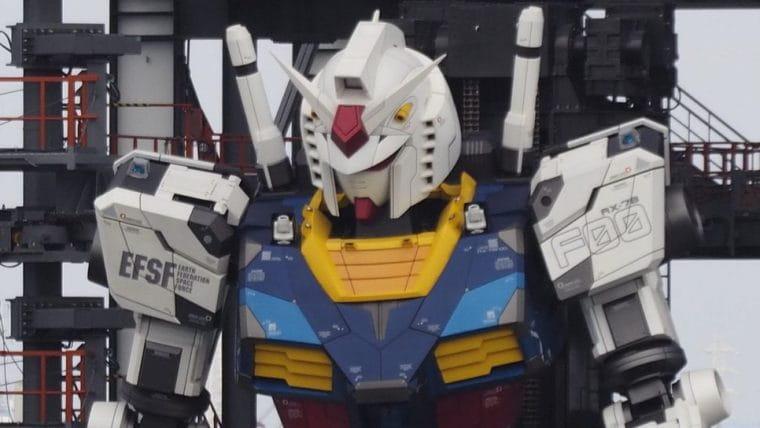 Japão terá estátua de Gundam em tamanho real com movimentos