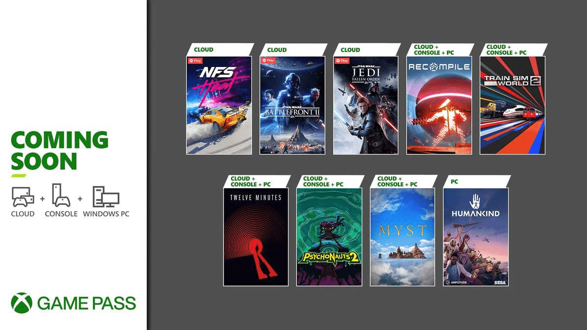 Jedi: Fallen Order, Psychonauts 2 e outros são anunciados para Xbox Game Pass