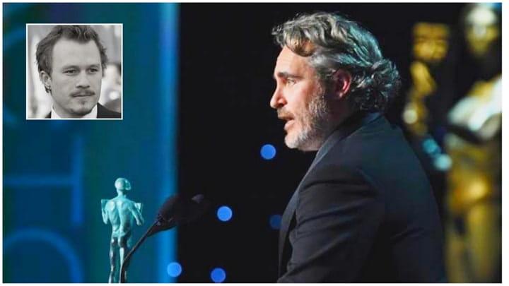 Joaquin Phoenix vence como melhor ator e homenageia Heath Ledger