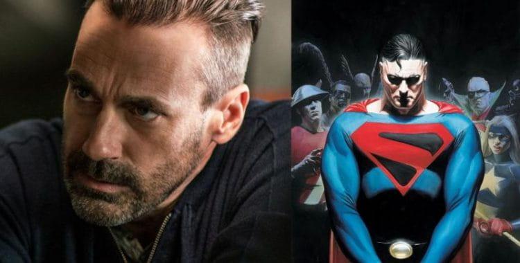 Jon Haamm pode viver o novo Superman no cinema