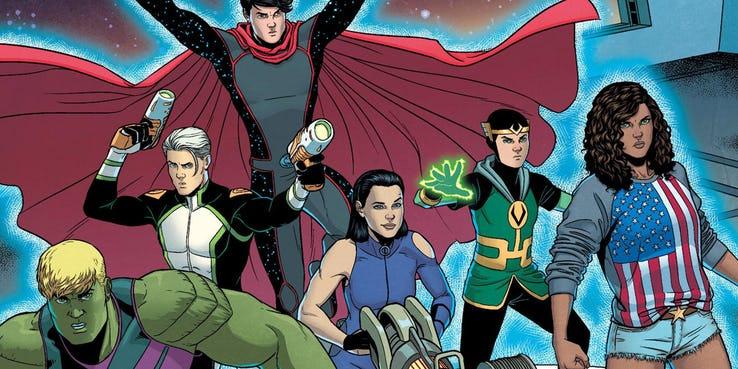 Jovens Vingadores | Projeto pode virar série do Disney+