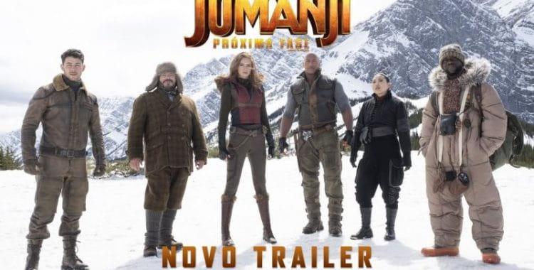 Jumanji: Próxima Fase   Filme ganha novo trailer, confira