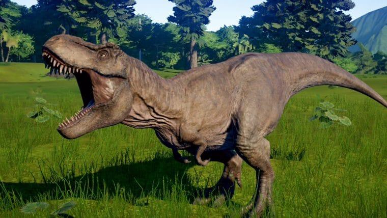Jurassic World Evolution está disponível gratuitamente para PC via Epic Games Store