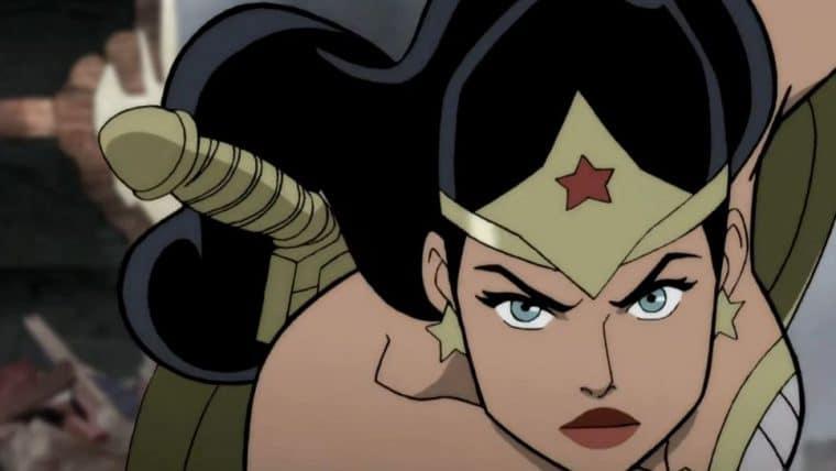 Justice Society: World War II   Longa animado ganha trailer com muita ação