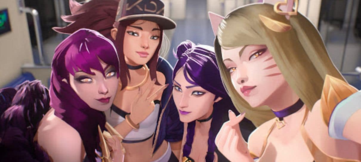 League of Legends | Nova música do K/DA será revelada na próxima semana