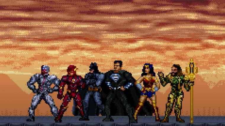 Liga da Justiça | Trailer do Snyder Cut é recriado em 16-bits, confira