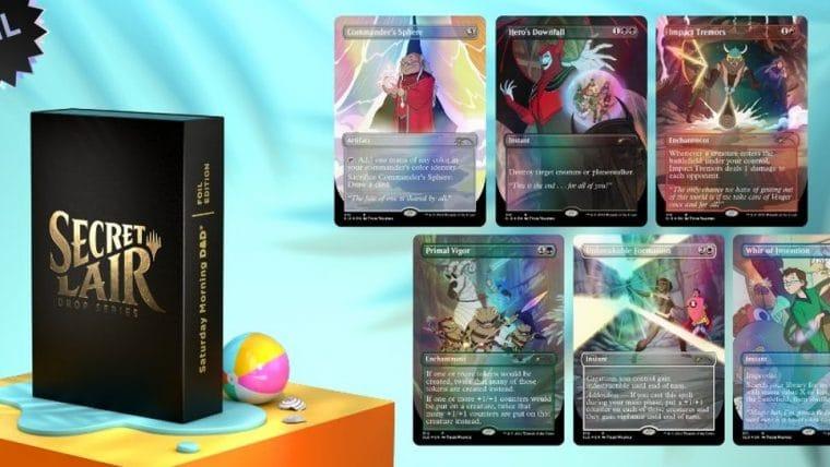 Magic: The Gathering terá cards especiais de Caverna do Dragão