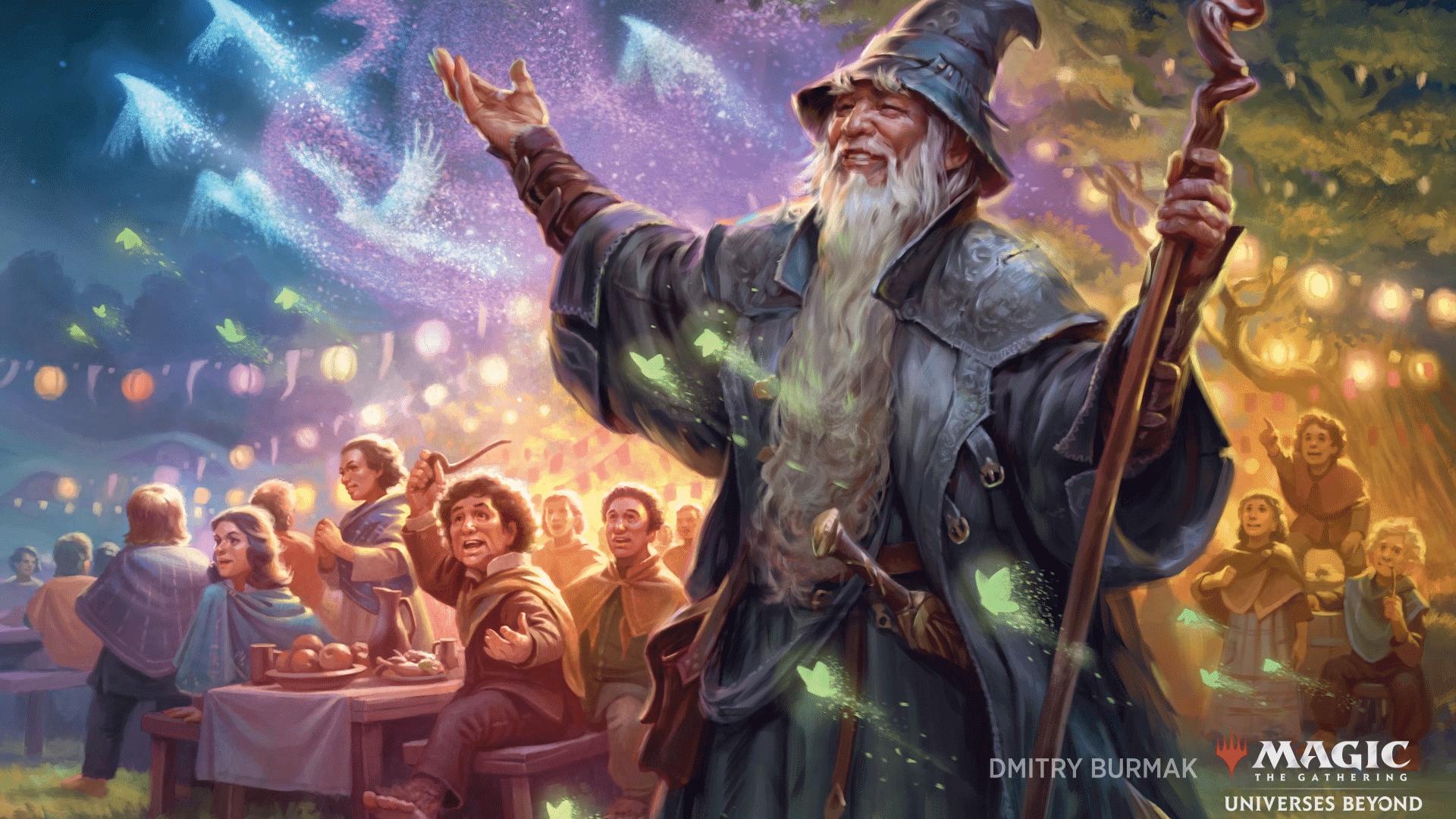 Magic: The Gathering terá crossover com O Senhor dos Anéis, Street Fighter e mais