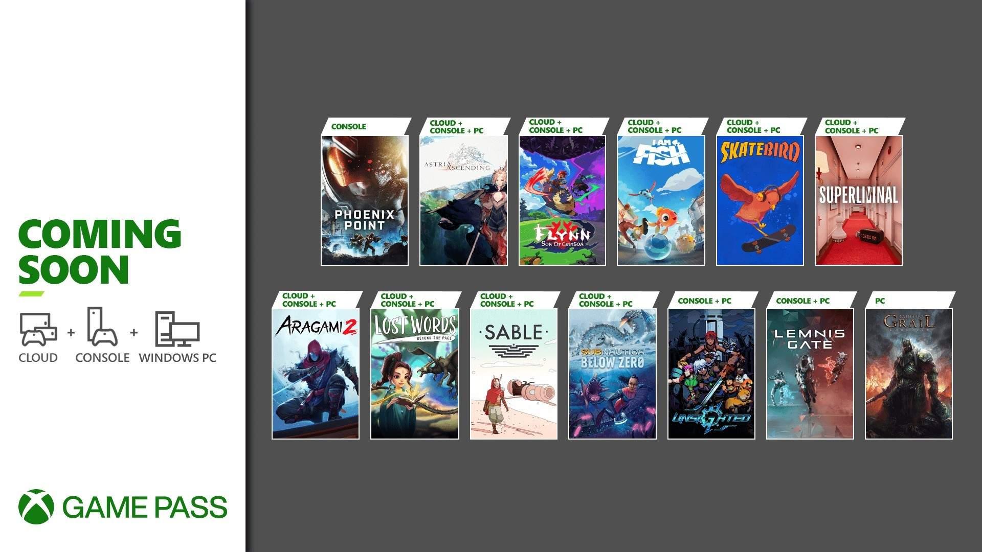 Mais jogos chegam ao Xbox Game Pass de Setembro, Confira
