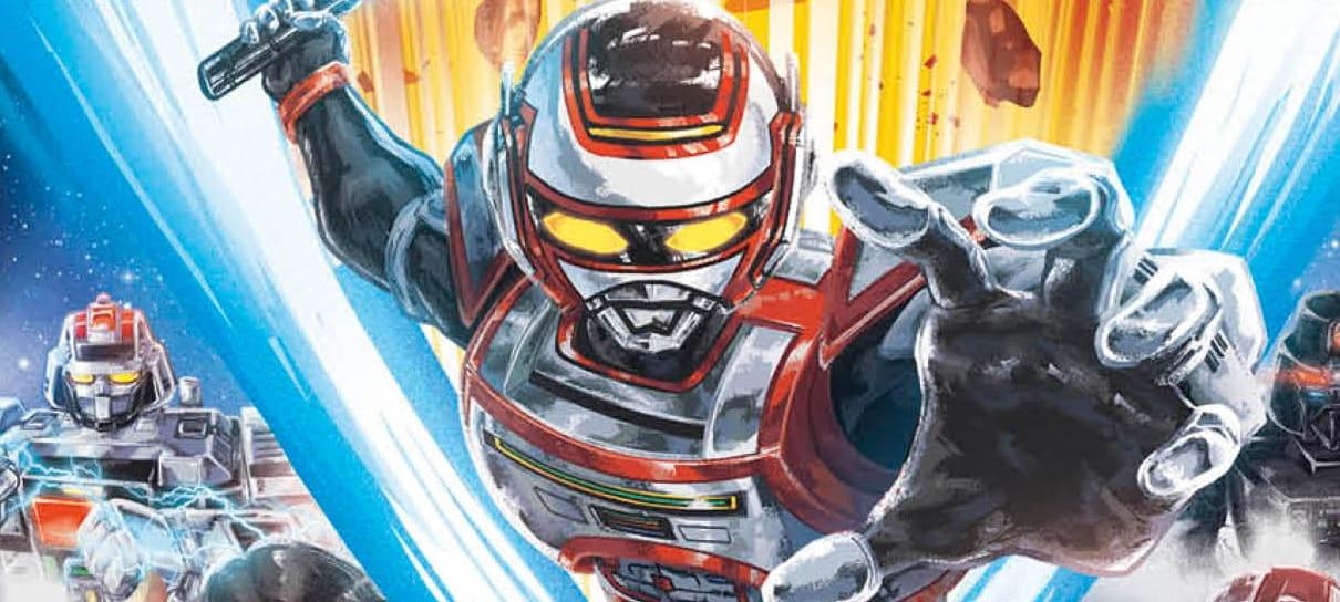 Manga brasileiro O Regresso de Jaspion ganha capa e mais detalhes