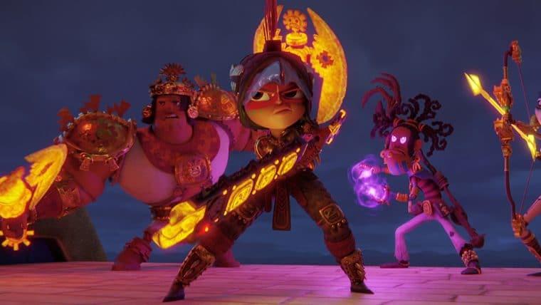 Maya e os 3 Guerreiros apresenta mundo cheio de cores, confira