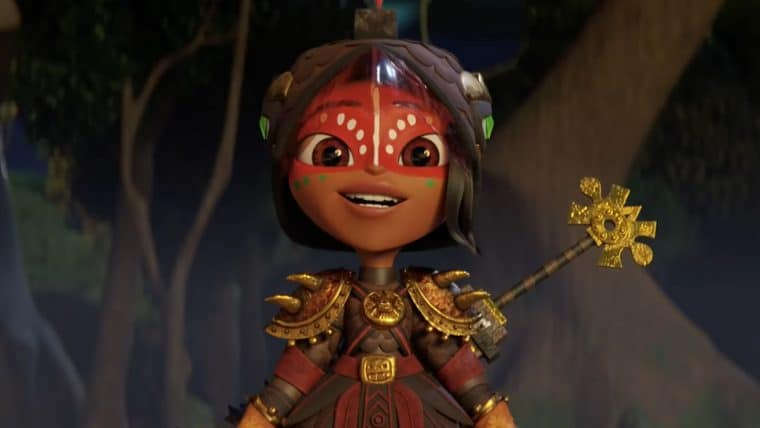 Maya e os 3 Guerreiros ganha teaser e data de estreia na Netflix
