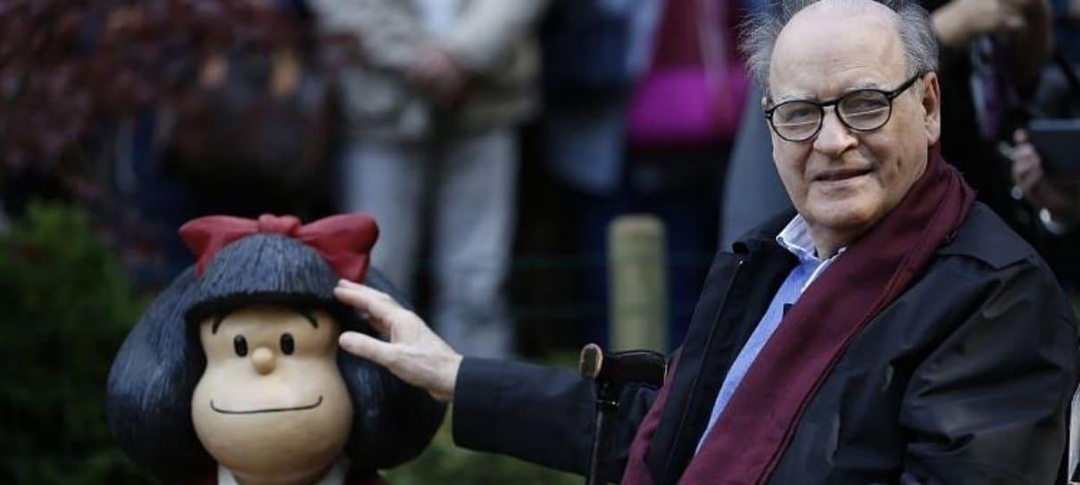 Morre Quino, o criador da Mafalda, aos 88 anos