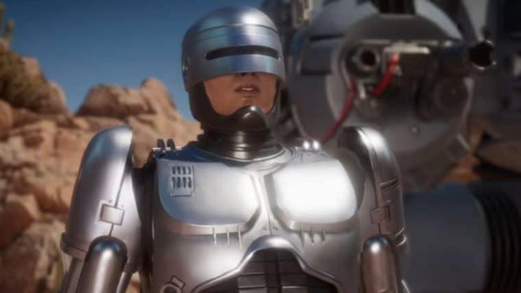 Mortal Kombat 11 | Vídeo mostra Robocop enfrentando Exterminador do Futuro
