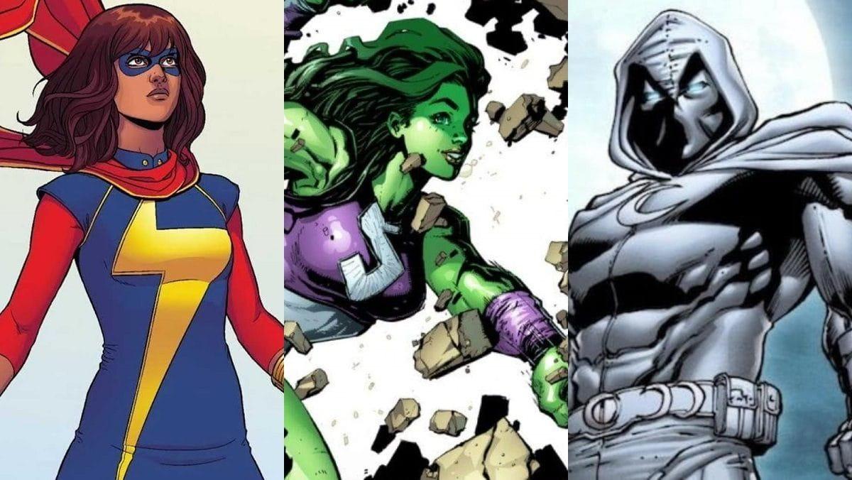 Ms. Marvel, She-Hulk e Cavaleiro da Luz serão as próximas séries do Disney+, confira