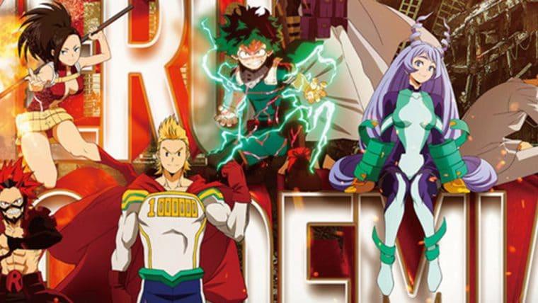 My Hero Academia | Heróis ganham destaque em cartaz da 4ª temporada