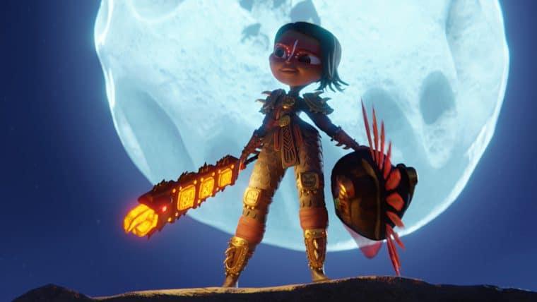 Netflix apresenta princesa guerreira em jornada épica em Maya e os 3 Guerreiros