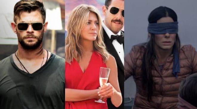 Netflix divulga lista de 10 filmes mais vistos na plataforma
