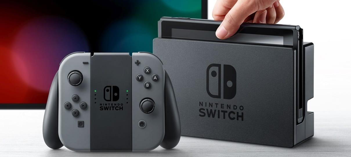 Nintendo Switch tem data de lançamento oficial no Brasil