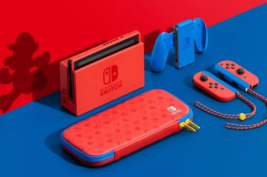 Nintendo Switch terá versão inspirada em Mario