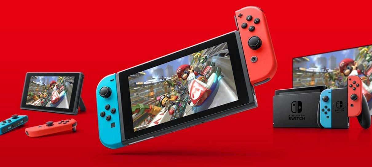 Nintendo Switch vai chegar oficialmente ao Brasil depois de três anos do lançamento