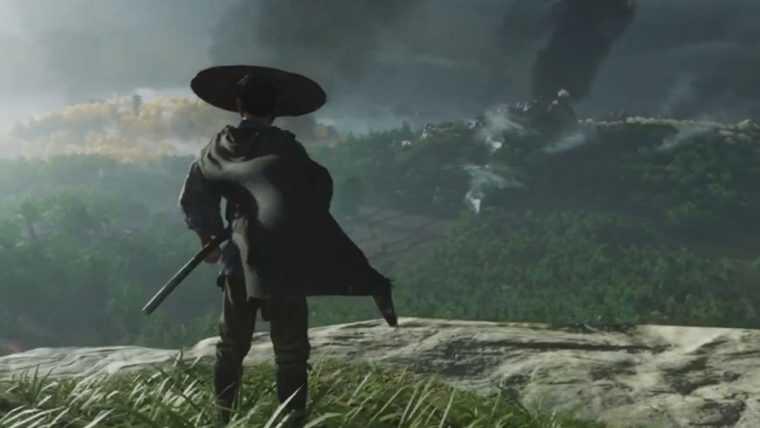 Novo vídeo de Gameplay de Ghost of Tsushima destaca combate e mundo aberto