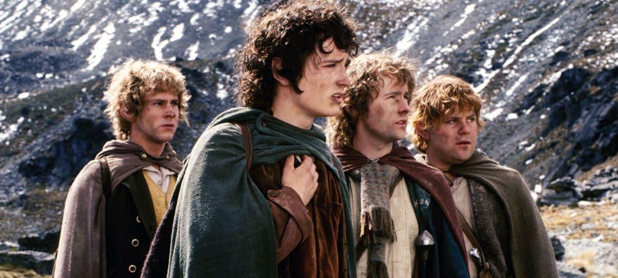 O Senhor dos Anéis | Frodo e Merry se encontram