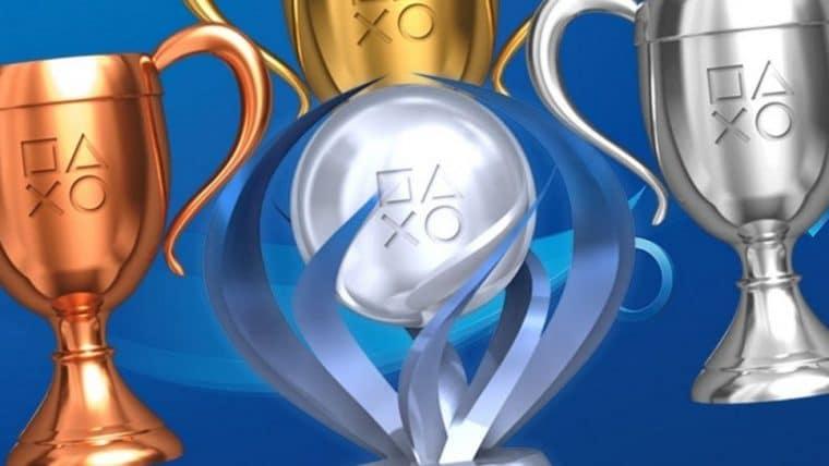 Os troféus do PlayStation 5 podem resultar em recompensas digitais para os jogadores
