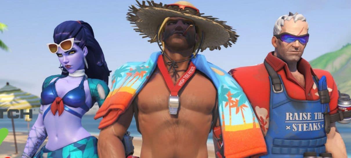 Overwatch | Confira as novas skins do evento de verão