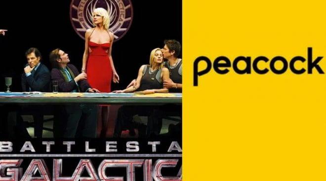 Peacock lançará reboot de Battlestar Galactica com roteiro de Michael Lesslie