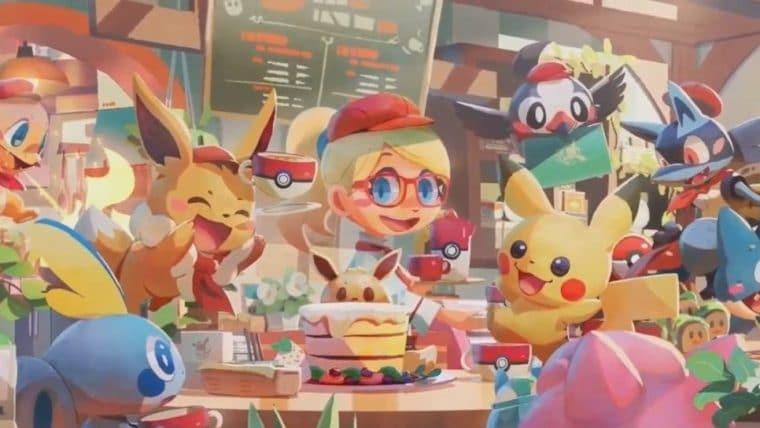 Pokémon Café Mix | Franquia gama mais um game para Nintendo Switch e mobile