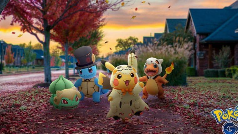 Pokémon Go   Evento de Halloween trará fantasias para os Pokémon