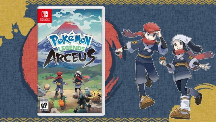 Pokémon Legends: Arceus | Game tem data de lançamento