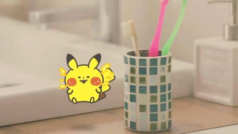 Pokémon Smile é jogo para incentivar crianças a escovarem os dentes