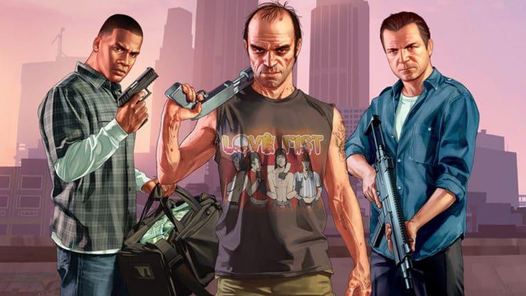 Protagonistas de GTA V são confirmados na BGS 2019