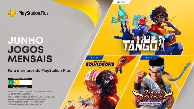 PS Plus de Junho conta com Star Wars Squadrons e muito mais