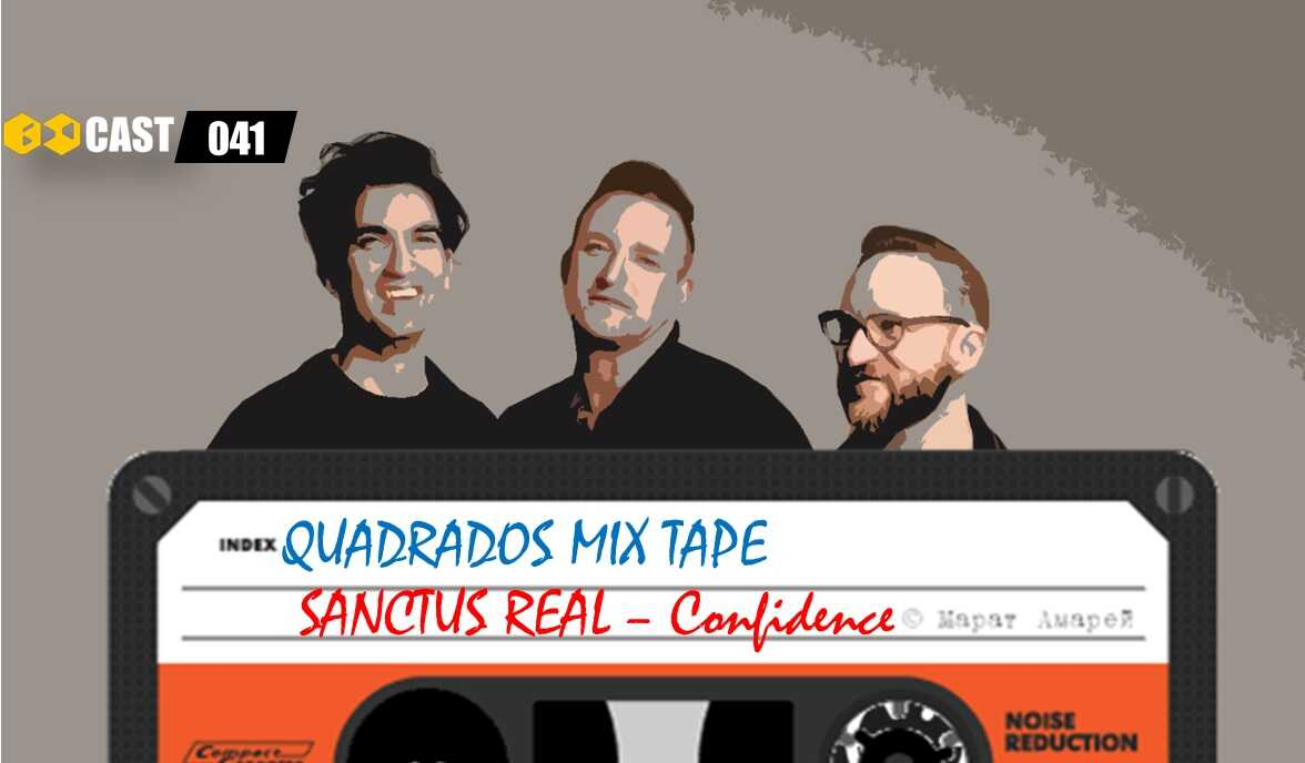 Quadrados Mix TAPE: Confidence - Sanctus Real