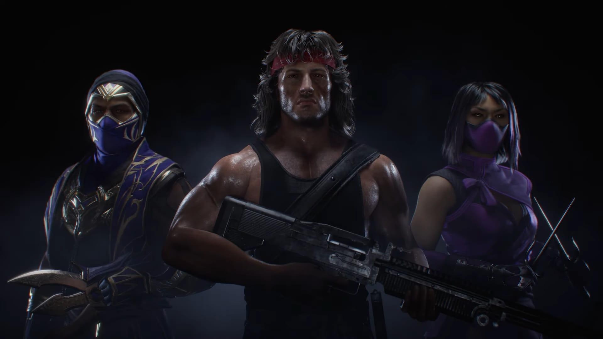 Rain, Mileena e Rambo são anunciados em nova atualização de Mortal Kombat