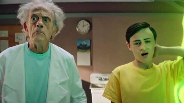 Rick and Morty ganha video com Christopher Lloyd interpretando Rick