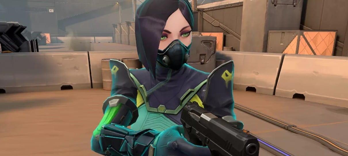 Riot Games baniu quase 9 mil jogadores em seu novo jogo Valorant