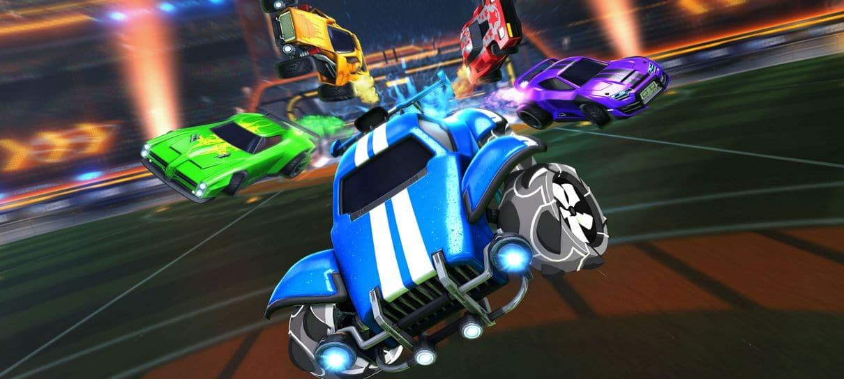 Rocket League está de graça e recebeu atualização